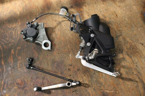 12 YAMAHA YZFR1 YZF R1 RIGHT BRAKE REAR SET & SHIFT LEVER PEDAL 09 10 11 13 14