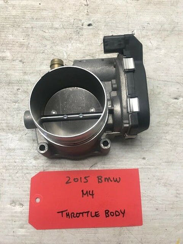 14 15 16 BMW F80 F82 F83 M3 M4 S55 OEM THROTTLE BODY 9826 MILES 1354 7597871-03
