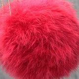 New 100% natural Turkey fur bra underwear women's fur coat real  Turkey fur coat fur mini skirt