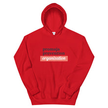 Load image into Gallery viewer, Promaja Prevention Logo Hoodie