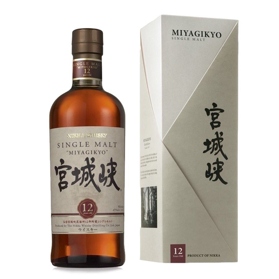nikka single  malt miyagikyo 12 years