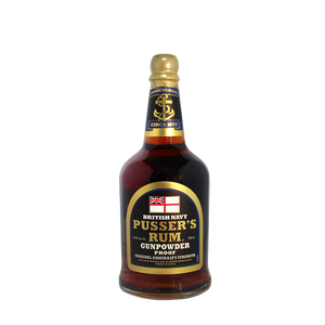 Pusser's Rum Gunpowder Proof (Black Label)
