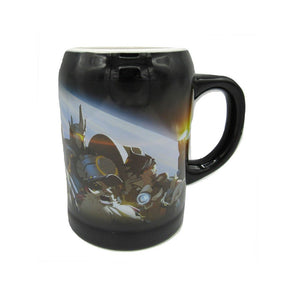 Overwatch ceramic glass pint