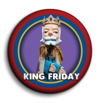 King Friday button