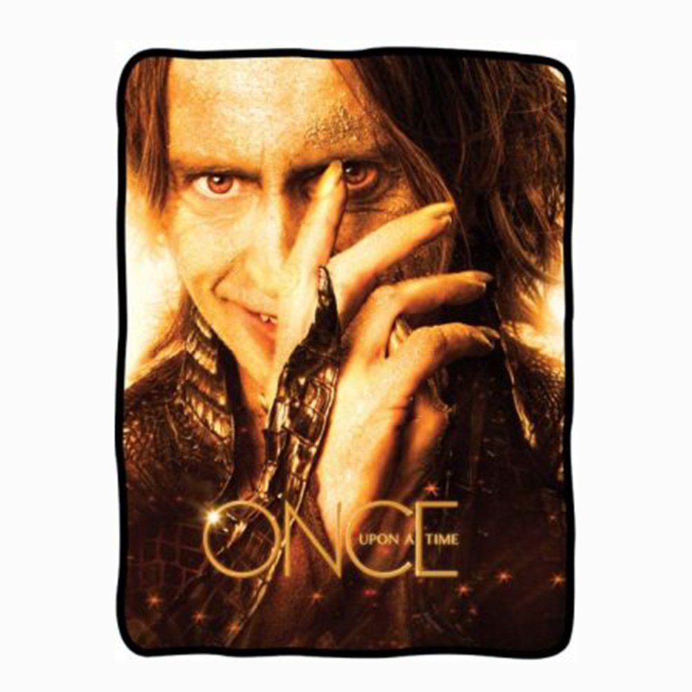 Mr Gold from Once Upon A Time on a Fleece Blanket