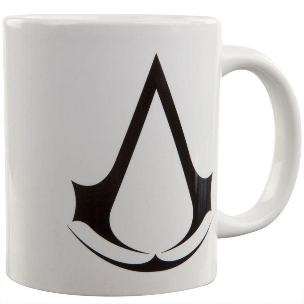 White Assassin's Creed coffee mug