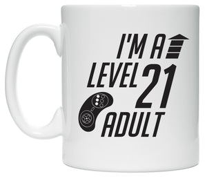 Level 21 Adult coffee mug