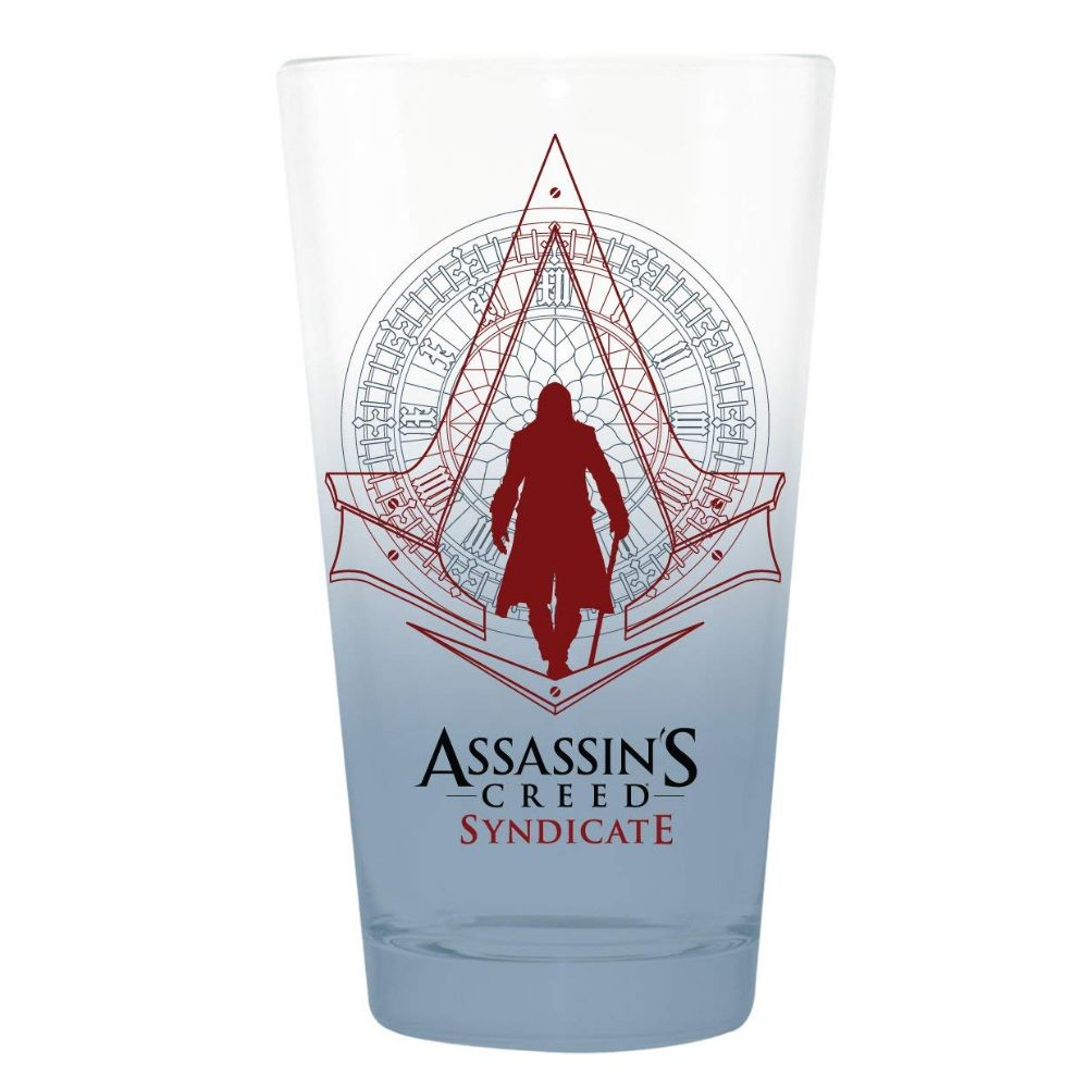 Assassin's Creed Syndicate glass pint from Nerd Code