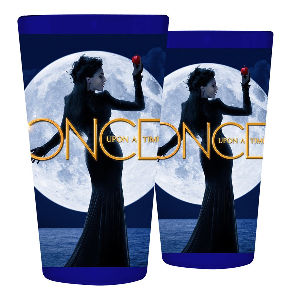 Pint Glass featuring Once Upon A Time queen