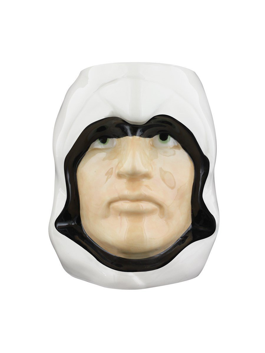 Assassin's Creed Altair head shaped coffee mug