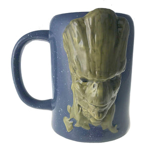 Guardians of the Galaxy Groot face coffee mug