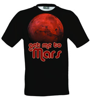 Get me to Mars graphic t-shirt