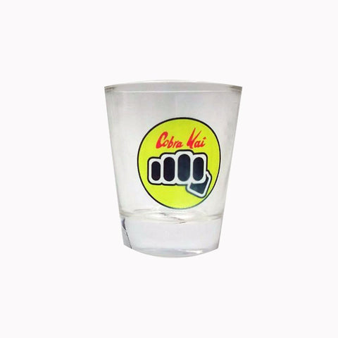 Cobra Kai shot glass