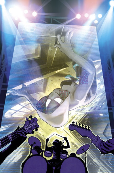 Spider-Gwen # 1 Adam Hughes CONQUEST COMICS Exclusive COLOR Variant