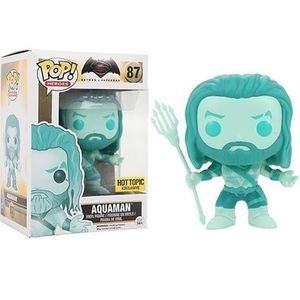 DC Comics Batman v Superman AQUAMAN OCEAN Hot Topic Exclusive Funko Pop