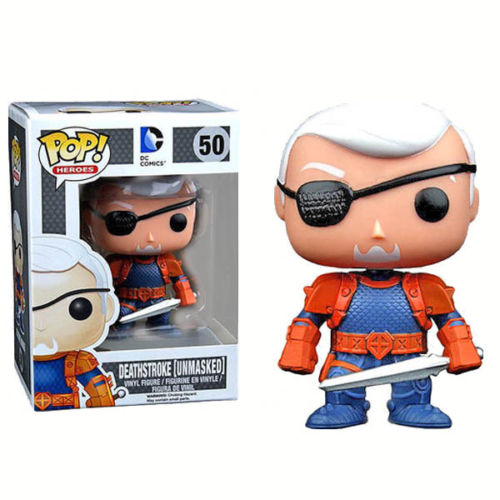 DC Comics DEATHSTROKE UNMASKED PX SDCC Exclusive Funko Pop