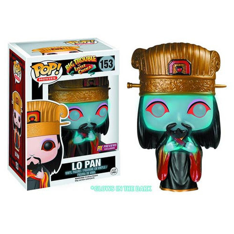 Big Trouble in Little China LO PAN Glow in the Dark Funko Pop PX Exclusive
