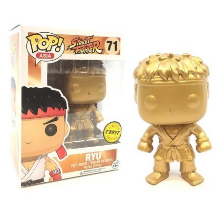 Street Fighter RYU GOLD CHASE Funko Pop