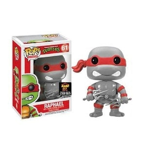 Teenage Mutant Ninja Turtles RAPHAEL B&W Alamo City Comic Con Exclusive Funko Pop
