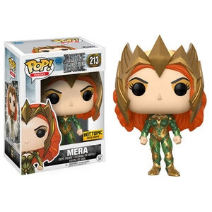 DC Comics Justice League MERA Hot Topic Exclusive Funko Pop