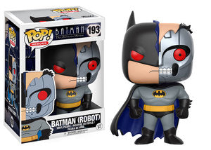 DC Comics Batman the Animated Series ROBOT BATMAN Funko Pop