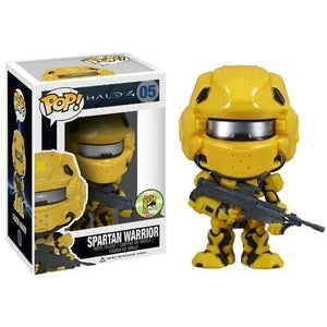 Halo 4 YELLOW SPARTAN WARRIOR 2013 SDCC Exclusive Funko Pop