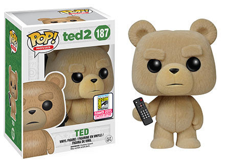 Ted TED FLOCKED Funko Pop SDCC EXCLUSIVE