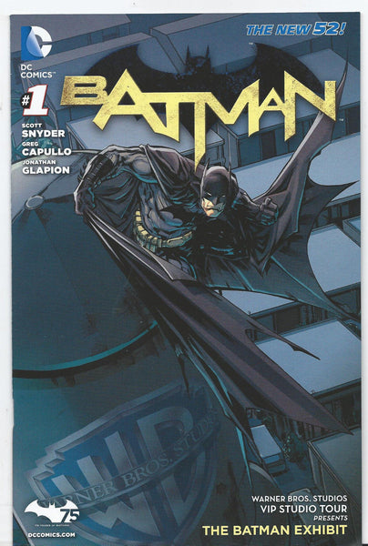 Batman # 1 New 52 Warner Brothers WB Studio Tour Exclusive Variant