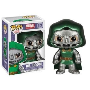 Marvel Comics METALLIC DOCTOR DR. DOOM 2014 Bangkok Exclusive Funko Pop
