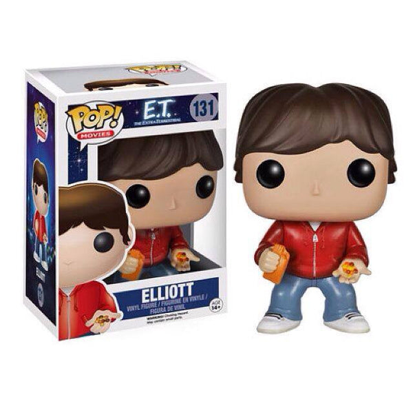 E.T. ET the Extra-Terrestrial ELLIOTT Funko Pop