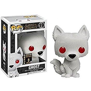 Game of Thrones FLOCKED GHOST 2015 SDCC Exclusive Funko Pop