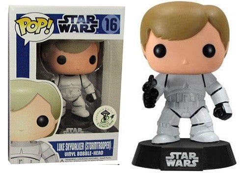 Star Wars Luke Skywalker as Stormtrooper ECCC EXCLUSIVE Funko Pop