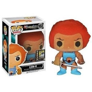 Thundercats FLOCKED LION-O 2014 SDCC Exclusive Funko Pop