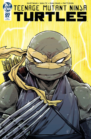 TMNT Teenage Mutant Ninja Turtles # 97 Michael Dialynas CONQUEST COMICS Exclusive Day Storm Variant - Cover B