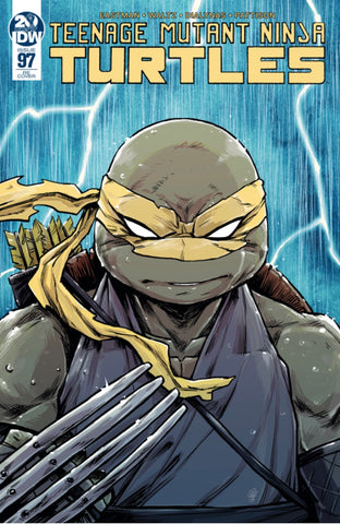 TMNT Teenage Mutant Ninja Turtles # 97 Michael Dialynas CONQUEST COMICS Exclusive Night Storm Variant - Cover A
