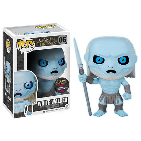 Game of Thrones HMV Exclusive Glow White Walker Funko Pop