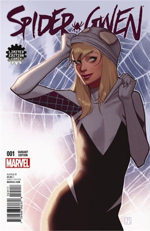 Spider-Gwen # 1 Limited Edition Comics Jorge Molina Exclusive Variant