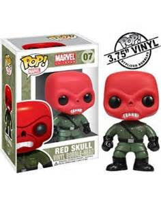 Marvel Comics RED SKULL Funko Pop