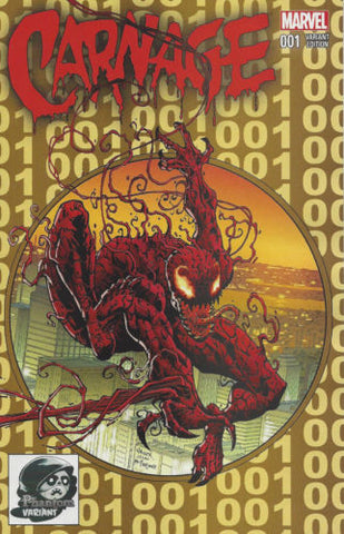 Carnage # 1 Exclusive GOLD Phantom Variant   ASM 300 Homage