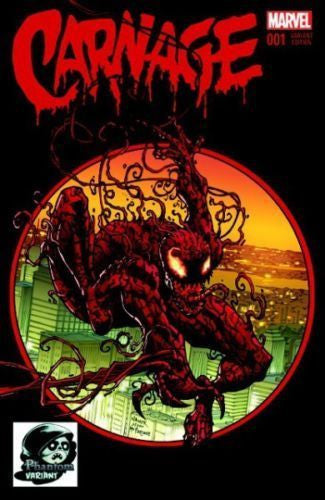 Carnage # 1 Exclusive COLOR Phantom Variant   ASM 300 Homage