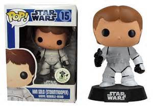 Star Wars Han Solo as Stormtrooper ECCC EXCLUSIVE Funko Pop