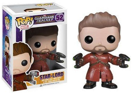 Marvel Comics Guardians of the Galaxy UNMASKED STARLORD Funko Pop Amazon Exclusive