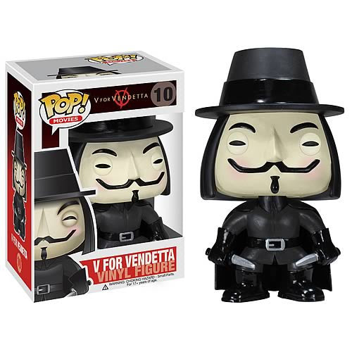 DC Comics V for Vendetta Funko Pop