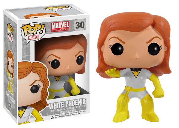 Marvel Comics WHITE & GOLD PHOENIX Funko Pop Conquest Comics Exclusive
