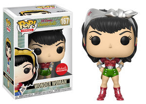 DC Comics Bombshells WONDER WOMAN Michael's Holiday Exclusive Funko Pop