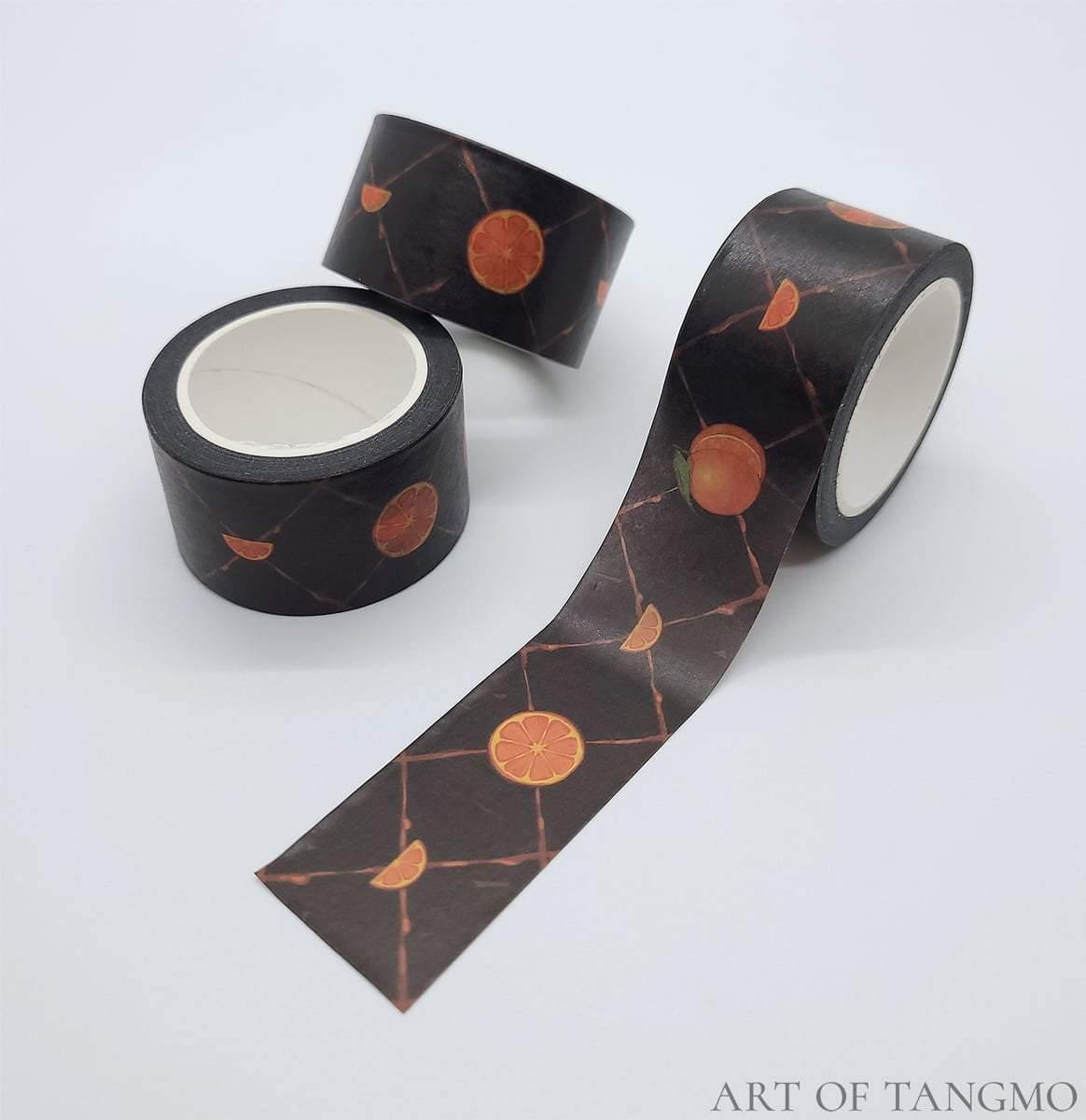 orange juice washi tape