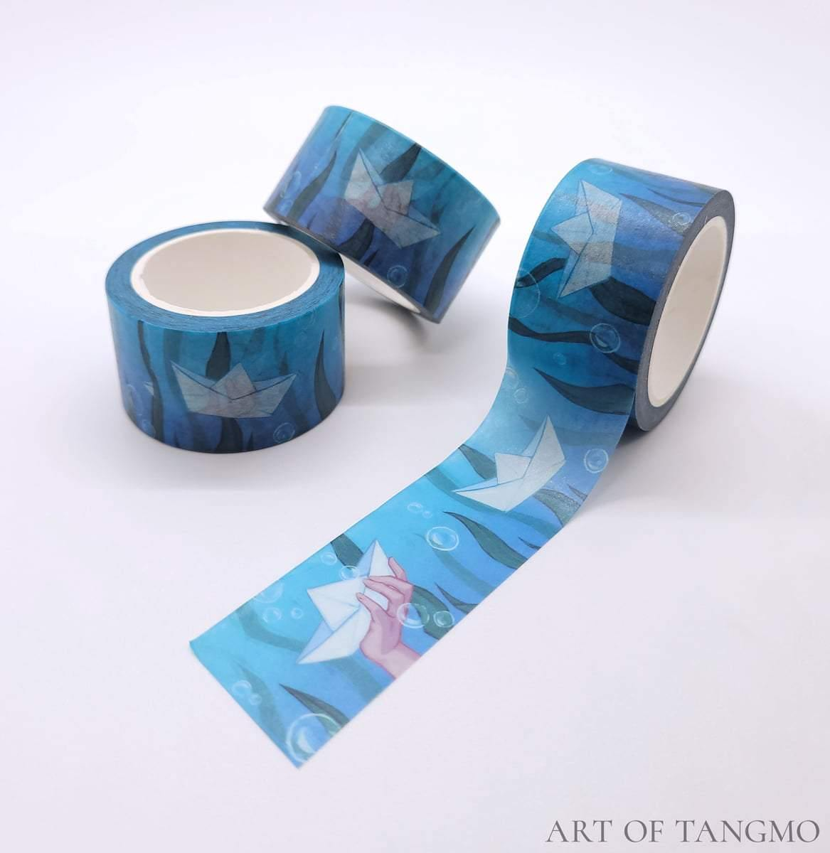 paper boat washi tape