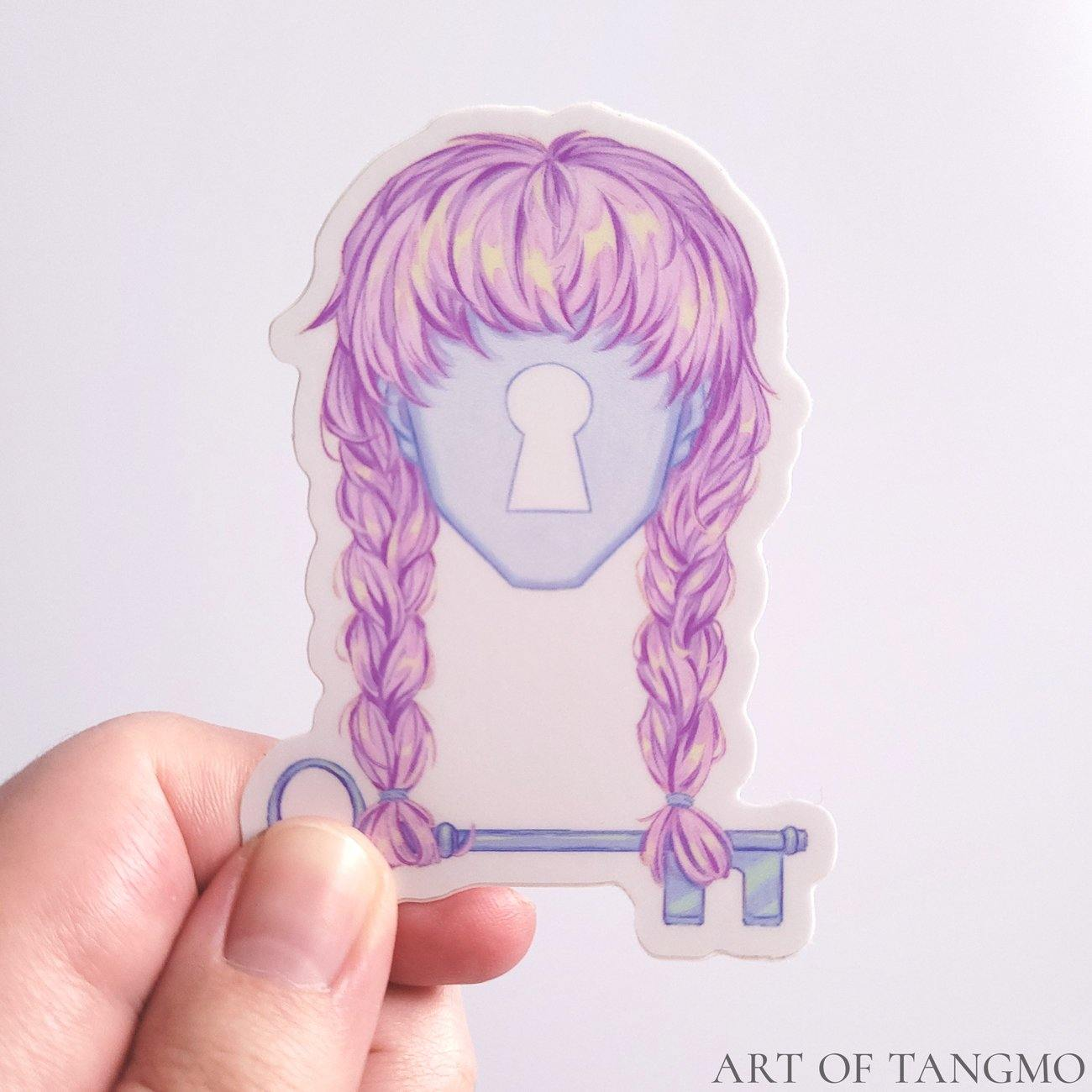 Mystery Girl: Vinyl Sticker Pack - Art of Tangmo