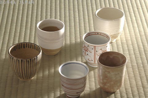 Different Types Of Yunomi Tea Cups