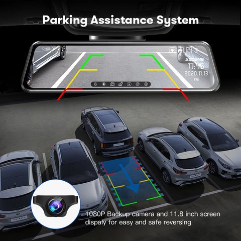 AZDOME PG17 Parking Assistance System